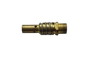 DIFUSOR DE GAS TOCHA MIG/MAG 11 X 38MM C/ MOLA - ENGATE RAPIDO - V8 BRASIL