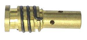 DIFUSOR DE GAS TOCHA MIG/MAG 11X34MM C/ MOLA - ENGATE RAPIDO - V8 BRASIL