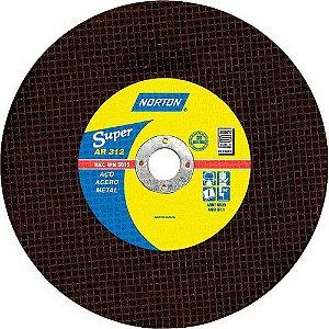 DISCO DE CORTE 10X3/4 AR312 NORTON (254X3,2X19,05)