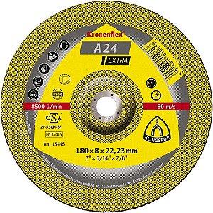 "DISCO DE DESBASTE 4 1/2""X6MM A24 EXTRA - KLINGSPOR"