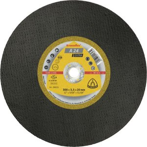 DISCO DE CORTE 12''X3mmX1'' A24 EXTRA - KLINGSPOR