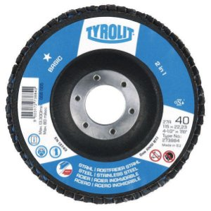"FLAP DISC 4"" 1/2 GR 120 Tyrolit ZA120-B BASIC"