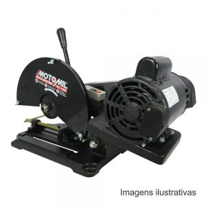 Serra Cortar Ferro Metais Pro 2hp Monofasica Sc-100m Motomil