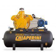 COMPRESSOR 40 AP3V 360L 10HP 220/380V industrial, trifásico, alta pressão, chiaperine