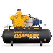 COMPRESSOR 40 AP3V 425L 10HP 220/380V industrial, trifásico, alta pressão, chiaperine