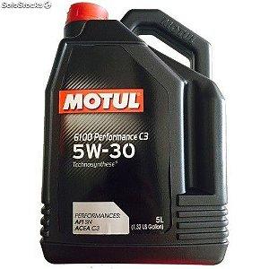 Motul 6100 5w30 C3 - Linha Diesel, Álcool e Gasolina