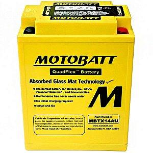Bateria  Motobatt Mbtx14au Moto Honda Cbx 750 Sete Galo