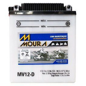 Bateria Moura Moto Big Trail Bmw G650gs - Mv12-d