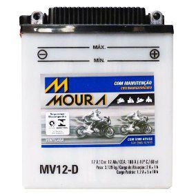 Bateria Moura Moto Big Trail Bmw G650gs - Mv12-d