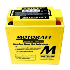 Bateria Moto Big Trail Triumph Tiger 800xc Motobatt Mbtx16u