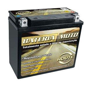 Bateria De Moto Harley Davidson Deluxe Dyna Fat Boy Ytx20l-bs