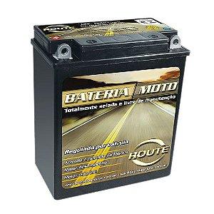 Bateria Moto Bmw G 650gs Yamaha Virago 535 Route Ytx14la-bs Selada