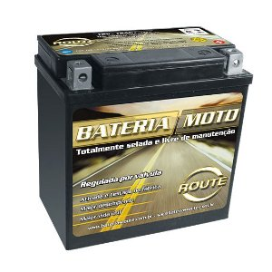 Bateria Moto Route Harley Davidson Sportster 800 1200 Ytx14l-bs