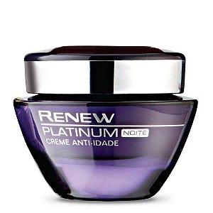 Renew Platinum Creme Noite 50g