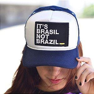 Boné It's Brasil Not Brazil