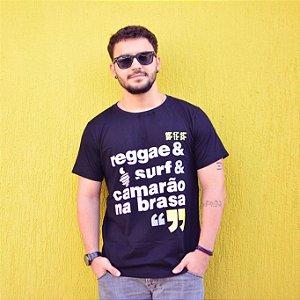 Camiseta Reggae Preta