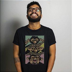 Camiseta Desentendidx Preta