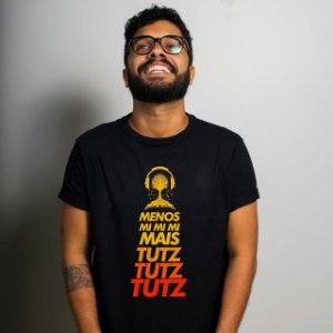 Camiseta Tutz Tutz Preta