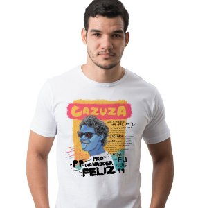 Camiseta Cazuza Branca