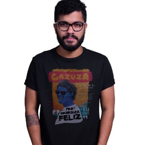 Camiseta Cazuza Preta