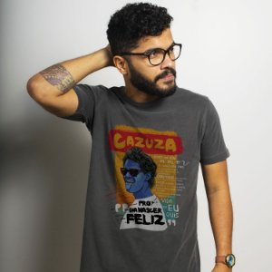 Camiseta Estonada Cazuza Chumbo