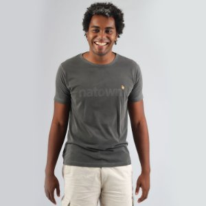 Camiseta Estonada Natown Chumbo