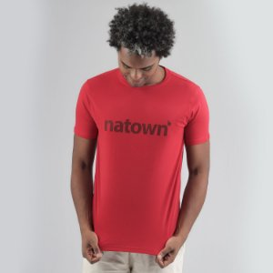 Camiseta Natown Vermelha