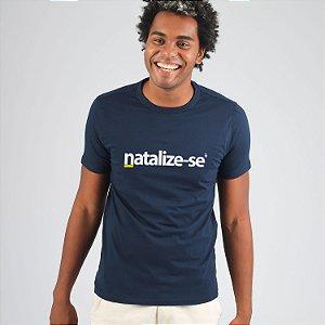 Camiseta Natalize-se Azul Marinho