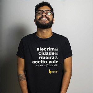 Camiseta Aceita Vale Preta