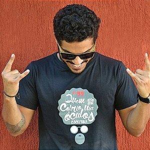 Camiseta Raulzito Slim Preta