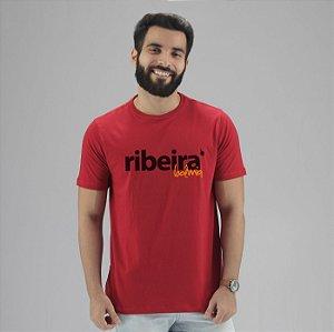 Camiseta Ribeira Boêmia Vermelha