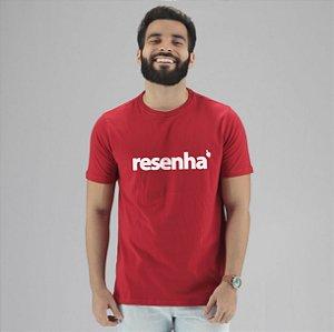 Camiseta Resenha vermelha