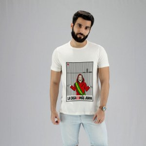 Camiseta La Casa de Mãe Joana Branca
