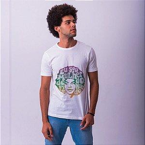 Camiseta Elza Soares Branca