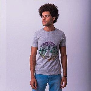 Camiseta Elza Soares Mescla