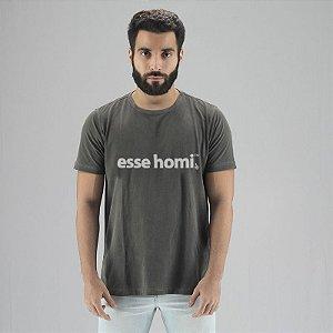 Camiseta Estonada Esse Homi Chumbo