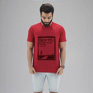 Camiseta Guimarães Rosa Vermelha