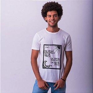 Camiseta Vinicius de Moraes Branca