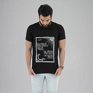 Camiseta Vinicius de Moraes Preta