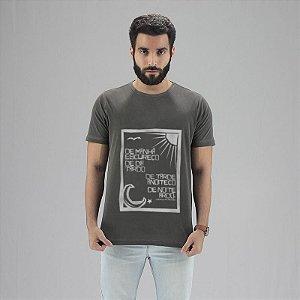 Camiseta Vinicius de Moraes Chumbo