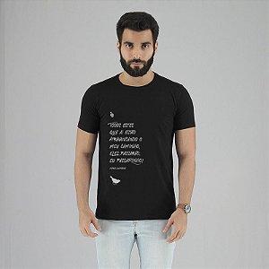Camiseta Mario Quintana Preta