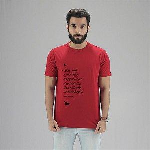 Camiseta Mario Quintana Vermelha
