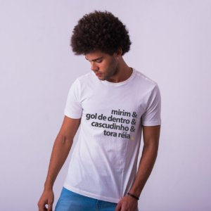 Camiseta Peladeiro Branca
