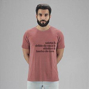 Camiseta Estonada Dribles Goiaba