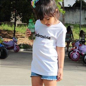 Camiseta Infantil Fuderosinha Branca