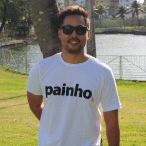 Camiseta Painho Branca