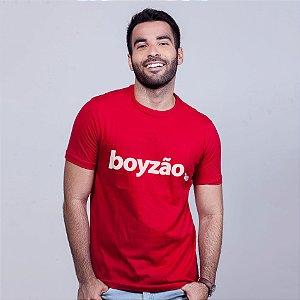 Camiseta Boyzão Vermelha