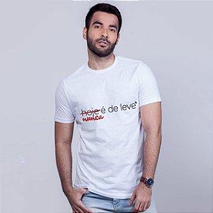 Camiseta De Leve Branca