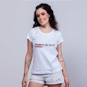 Camiseta Babylong De Leve Branca