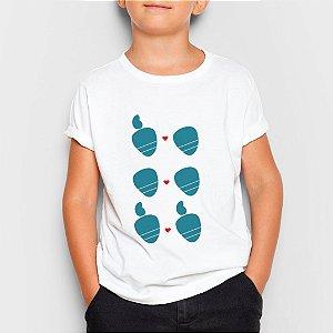 Camiseta Infantil Amor Sem Etiqueta